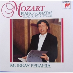 Mozart: Klaverkoncert nr. 21 & 27. Murray Perahia, The Chamber Orchestra of Europa. 1 CD. Sony
