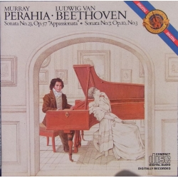 Beethoven: Klaversonate nr. 7 & 23. Murray Perahia. 1 CD. Sony