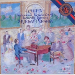 Chopin: 4 Impromptus, Barcarolle, Berceuse. Murray Perahia. 1 CD. Sony