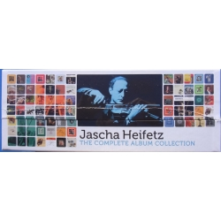 Jascha Heifetz: The Complete Album Collection. 104 CD. RCA