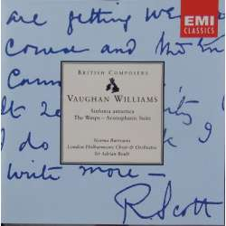 Vaughan-Williams: Symfoni nr. 7. 'Antartica'. + The Wasp. Sir Adrian Boult, London Philharmonic Orchestra and Chorus. 1 CD. EMI