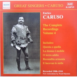Enrico Caruso. The Complete Recordings Vol. 4. 1 CD. Naxos
