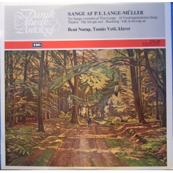 P.E. Lange-Müller: Songs. Bent Norup, Tamas Vetö. 1 LP. DMA 009. A brand new copy.