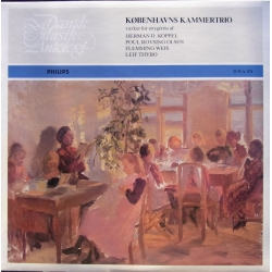 Works for String trio by Koppel, Rovsing-Olsen, Weis, Thybo. Københavns kammertrio. 1 LP. DMA 074. A brand new copy