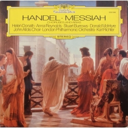 Handel: Messiah. Kor og arier. Karl Richter. 1 LP DG. 2530643