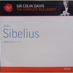 Sibelius: Kullervo symfoni. Colin Davis, London Symphony Chorus and Orchestra. 1 CD. RCA