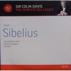 Sibelius: Lemminkäinen suite, Pohjolas daughter, The Bard. Colin Davis, LSO. 1 CD. RCA