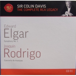 Elgar: Symphony no. 1. & Rodrigo: Concierto de Aranjuez. Julian Bream, Colin Davis. 1 CD. RCA
