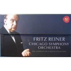 Fritz Reiner: The Complete Chicago Symphony Recordings on RCA. 63 CD.