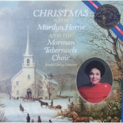 Christmas with Marilyn Horne, Mormon Tabernacle Choir. 1 CD. Sony