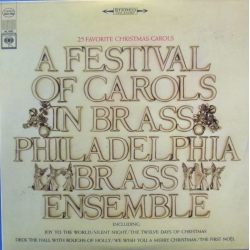 A Festival of Carols in Brass. Philadelphia Brass Ensemble. 1 CD. Sony