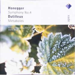 Honegger: Symfoni nr. 4. & Dutilleux: Metaboles. Charles Munch. 1 CD. Warner