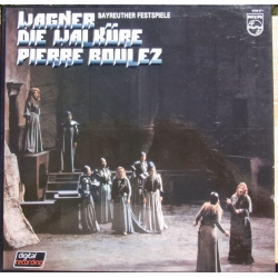 Wagner: Die Walküre. Pierre Boulez. 4 LP. Philips