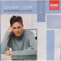 Schubert: Lieder vol. 2. Ian Bostridge, Julius Drake. 1 CD. EMI