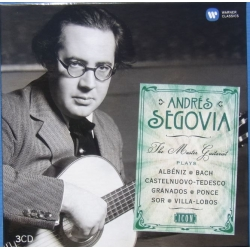 Segovia The Master Guitarist. 3 CD. Warner