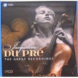 Jacqueline du Pre: The great Recordings. 17 CD. Warner