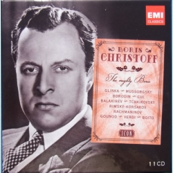 Boris Christoff. The Mighty Boris. Songs and opera arias. 11 CD. EMI