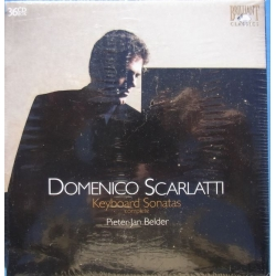 Domenico Scarlatti: Complete Keyboard sonatas. Pieter Jan Belder. 36 CD. Brilliant Classics. New Copy.