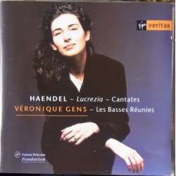 Handel: 3 kantater fra Lucrecia. Veronique Gens. 1 CD. Virgin
