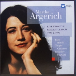 Martha Argerich: Live from Concertgebouw 1978 & 1979. 1 CD. EMI