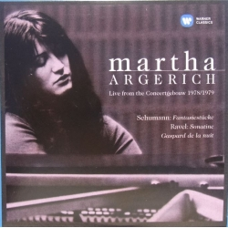 Martha Argerich: Schumann & Ravel. Live from Concertgebouw 1978 & 1979. 1 CD. Warner