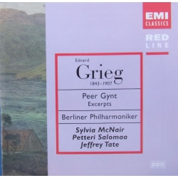 Grieg: Peer Gynt. McNair, Jeffrey Tate, Berlin Philharmoniker. 1 CD. EMI. Red line
