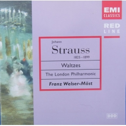 J. Strauss: Valse. LPO, Welser-Möst. 1 CD. EMI Red Line
