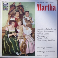 Flotow: Martha. Rothenberger, Gedda, Prey. Robert Heger. 3 LP. EMI