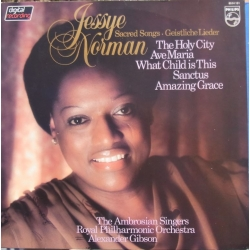 Jessye Norman. Sacred Songs. 1 LP. Philips 6514151