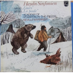 Haydn: Symfoni nr. 82 & 83. Neville Marriner, Academy. 1 LP. Philips 9500519
