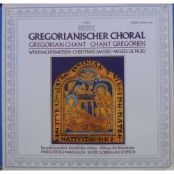 Gregorian Chant. Christmas masses. Benedictine Abbey, Pater Godehard Joppich. 1 LP. Archiv.