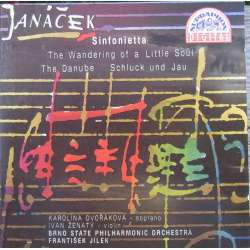 Janacek: Sinfonietta & The Danube & Schluck und jau, The Wandering of a little Soul. F. Jilek. 1 CD. Supraphon