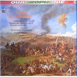 Tchaikovsky: 1812 overture + Romeo and Juliet. LSO, Previn. 1 LP. EMI