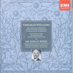 Ralph Vaughan-Williams. Symfoni nr. 1-9. Sir Adrian Boult, London Philharmonic Orchestra. 8 CD. EMI