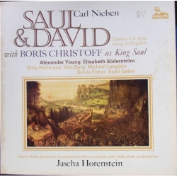 Nielsen: Saul & David. Young, Söderström, Borg. Horenstein. 3 LP. Unicorn