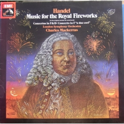 Handel: Music for the Royal Fireworks. Charles Mackerras, LSO. 1 LP. EMI ASD 3395