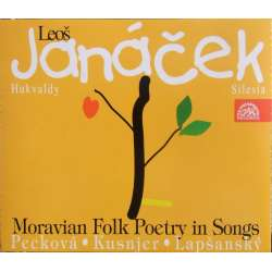 Janacek: Moravian folk poetry in songs. Peckova, Kusnjer, Lapsansky. 2 CD. Supraphon