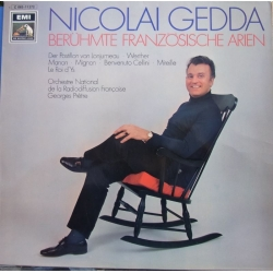 Nicolai Gedda sings famous french opera arias. 1 LP EMI