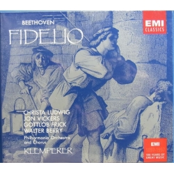 Beethoven: Fidelio. Ludwig, Vickers. Klemperer. 2 CD. EMI