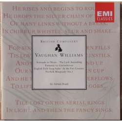 Vaughan Williams: Serenade to Music, Greensleves. LPO. Adrian Boult. 1 CD. EMI