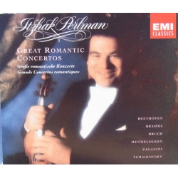 Itzhak Perlman. Great romantic concertos. 3 CD. EMI