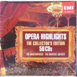Opera Highlights - The Collector's Edition. 50 Cds. EMI