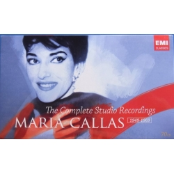 Maria Callas: The Complete studio recordings. 1949-1969. 70 CD. EMI