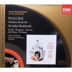 Puccini: Madama Butterfly. Barbiroli. Scotto, Bergonzi. 2 CD. EMI. GRC