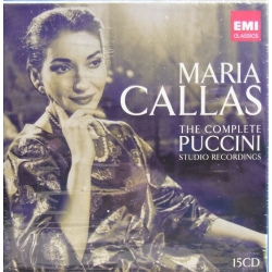 Maria Callas. The Complete Puccini studio Recordings. 15 Cd's EMI