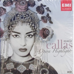 Maria Callas Opera Highlights. 8 CD. EMI