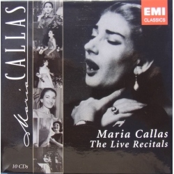 Maria Callas. The Live Recitals. 10 Cd's. EMI