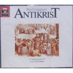 Rued Langgaard: Antikrist. Ole Schmidt, Sjællands SO. 2 CD. EMI