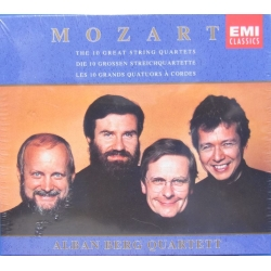 Mozart: String Quartets Nos. 14, 15, 16, 17, 18, 19, 20, 21, 22 23. Alban Berg Quartet. 5 CD. EMI