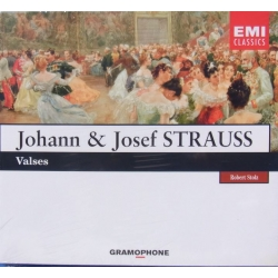 J. Strauss: Valse. Robert Stolz. 1 CD. EMI. Ønskeklassikeren